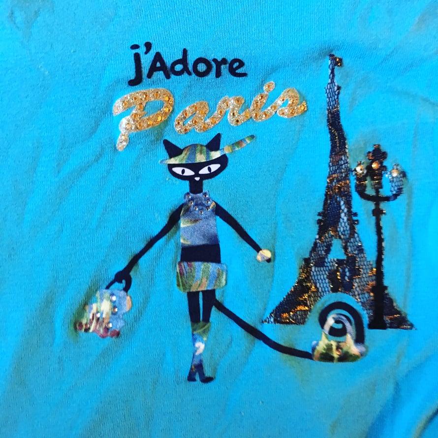 Yksi yö Pariisissa, T-paita loppuiäksi. Kimalteleva muisto parin vuoden takaa.