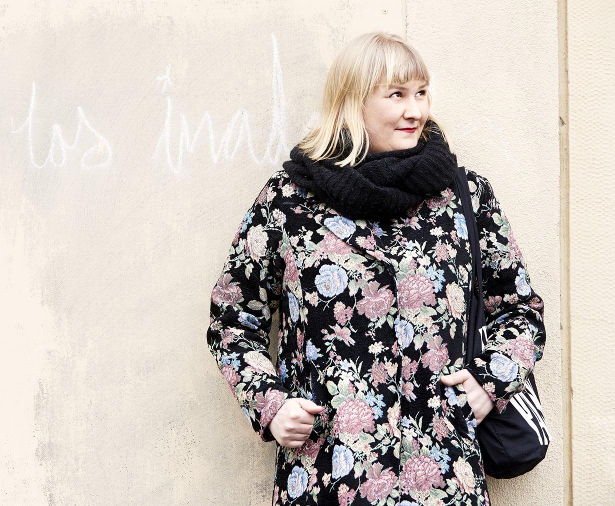 Eeva Vekki ei pelkää freelance-elämän epävarmuutta. Kuva: Juha Salminen