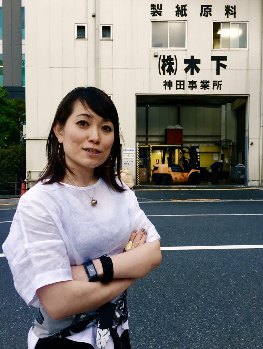 37-vuotias Yoko sanoo olevansa itsekin uusi Tokiossa, vaikka on asunut kaupungissa jo melkein 20 vuotta. Alkujaan hän on kotoisin Hiroshimasta.