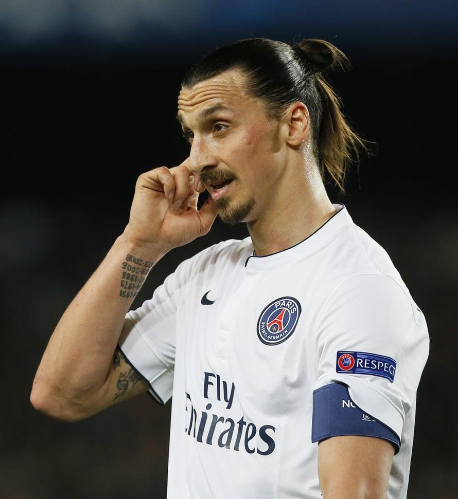 """Ole varuillasi, Zlatan. Kuva: <span class=""""photographer"""">Reuters</span>"""