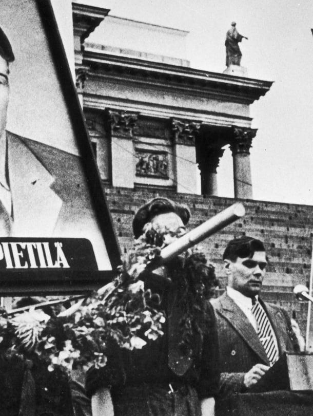 Vuonna 1949 oli paha lakkovuosi: Kemissä kuoli kaksi työläistä poliisin ampumina.