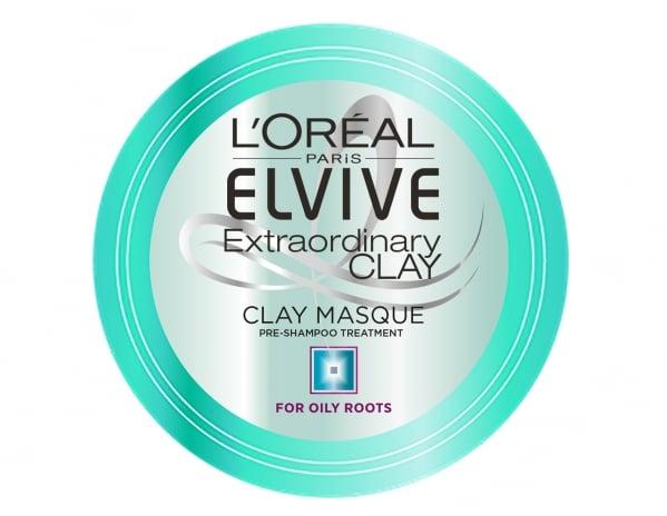 L'oréal Paris Elvital Extraordinary Clay Clay-in-mask Pre-shampoo treatment -hiusnaamio, 4,80 €.