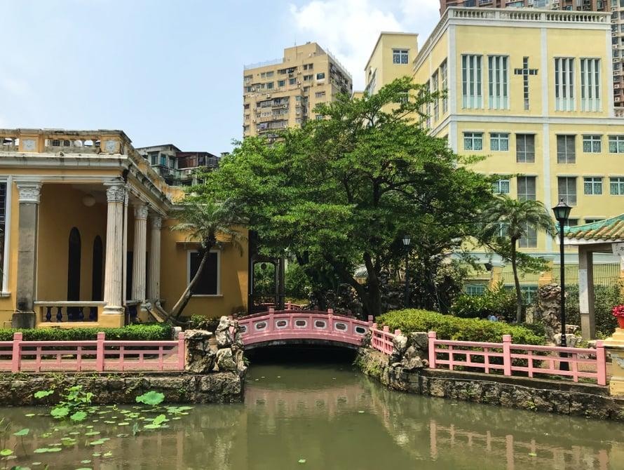 Lou Lim Ieoc -puutarha on ihana keidas keskellä kaupunkia.