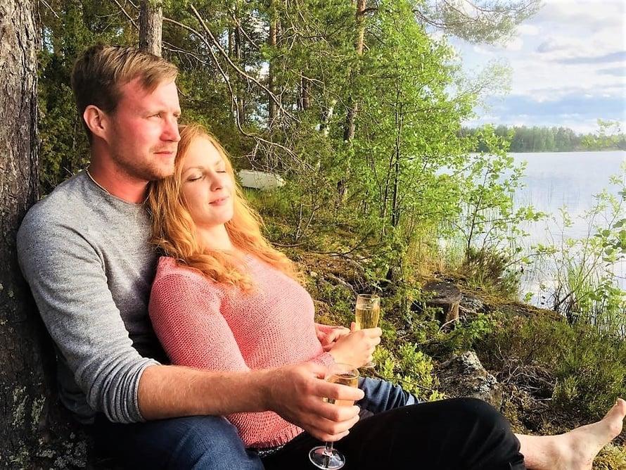 """Tuomo ja Marjo löysivät toisensa Maajussille morsian -sarjan viime kaudella. Kuva: <span class=""""photographer"""">MTV3</span>"""