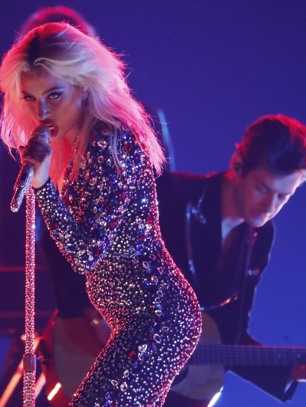 Lady Gaga esiintyi Grammy-gaalassa alkuvuonna 2019.