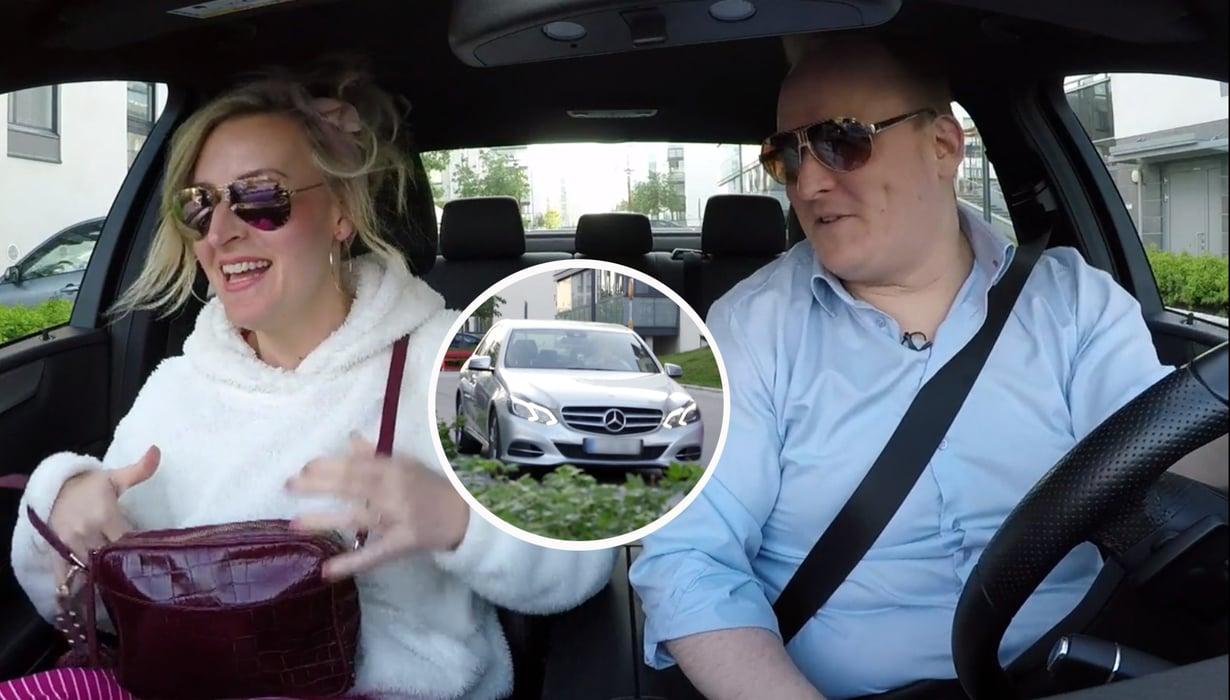 Oskarin mielestä hänen ja Heidin suhde on kuin Nissan. Oskari itse ajelee Mersulla.