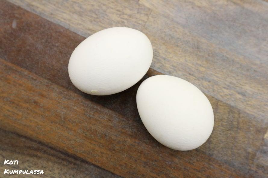 Kananmuna on hyvää ravintoa, mutta onko se hyvää silmäluomille?
