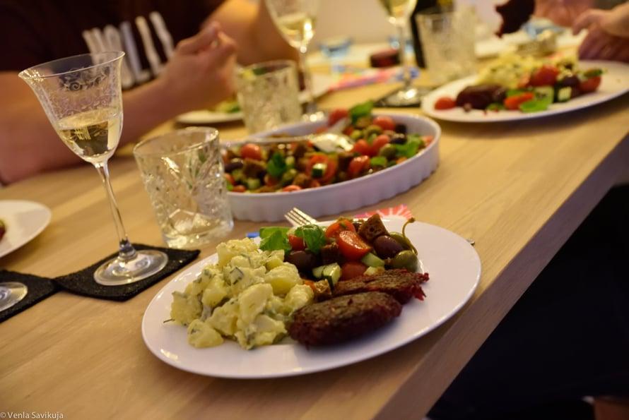 venla savikuja vegan menu