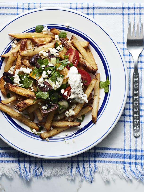 Ei ole lähes mitään, mitä feta ei parantaisi. Se maistuu taivaalliselta muun muassa ranskisten kanssa.