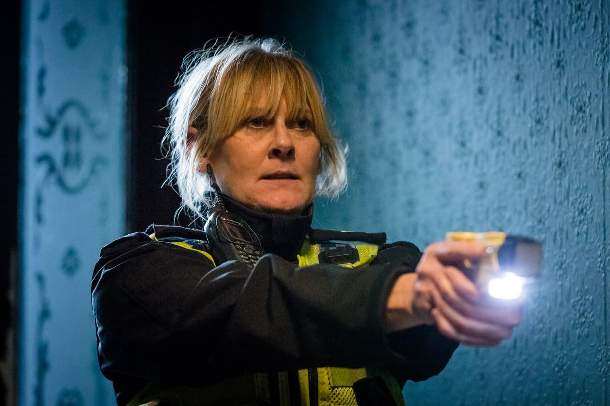 Ylikonstaapeli Catherine Cawood seikkailee brittidekkari Happy Valleyssa.