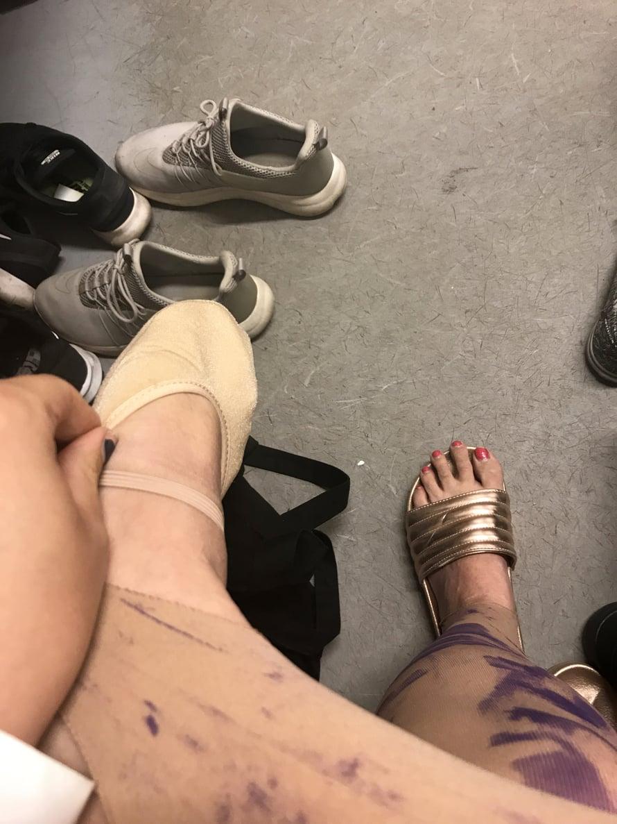 Jaahas, olisi aika vaihtaa sandaalit voikkatossuun.