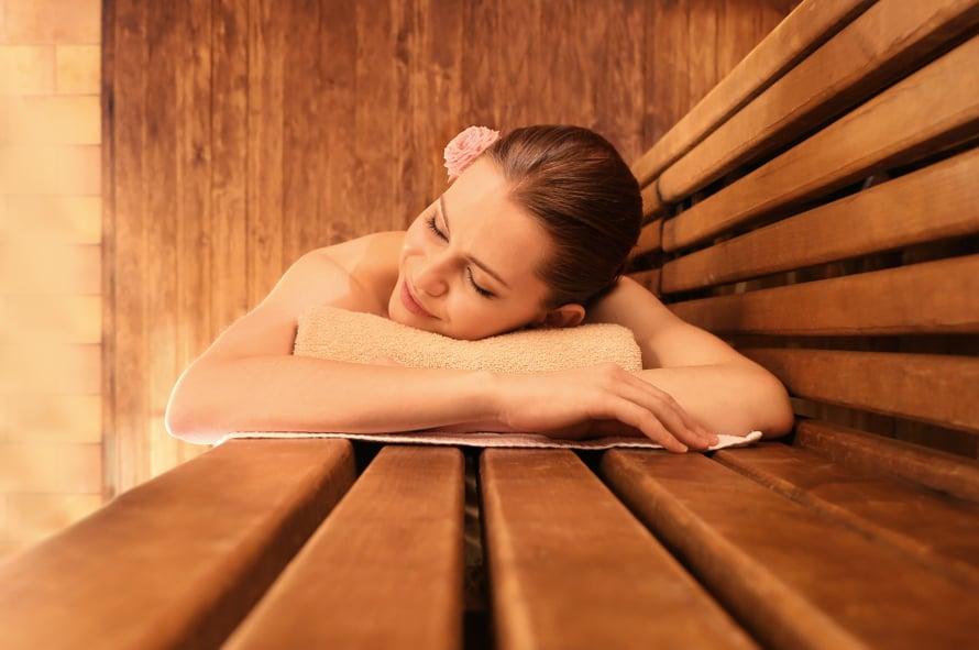 Sauna on mainio terveyden lähde.