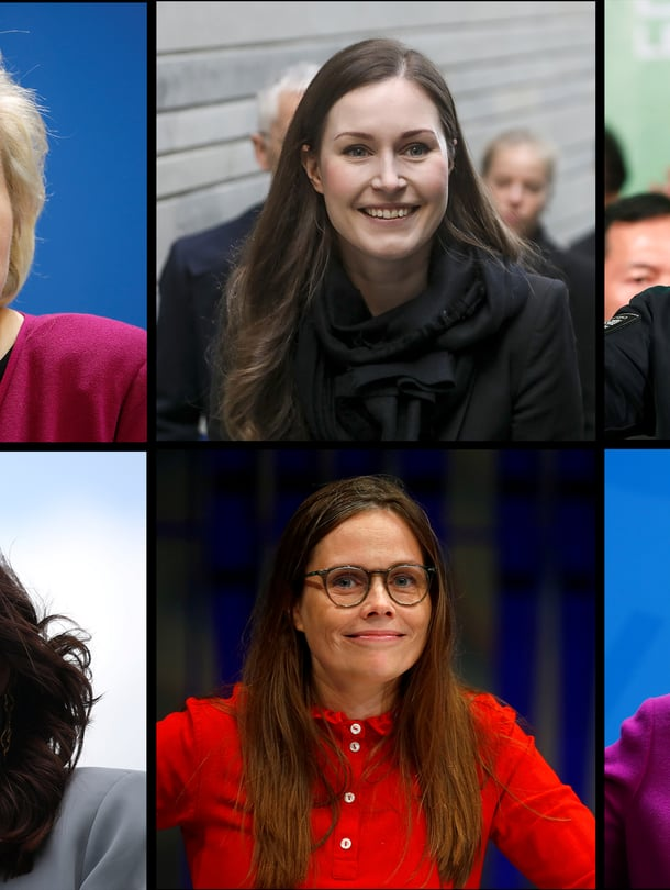 Mikä näitä henkilöitä yhdistää? Heidän johtamansa valtiot ovat selviytyneet koronakriisissä poikkeuksellisen hyvin.