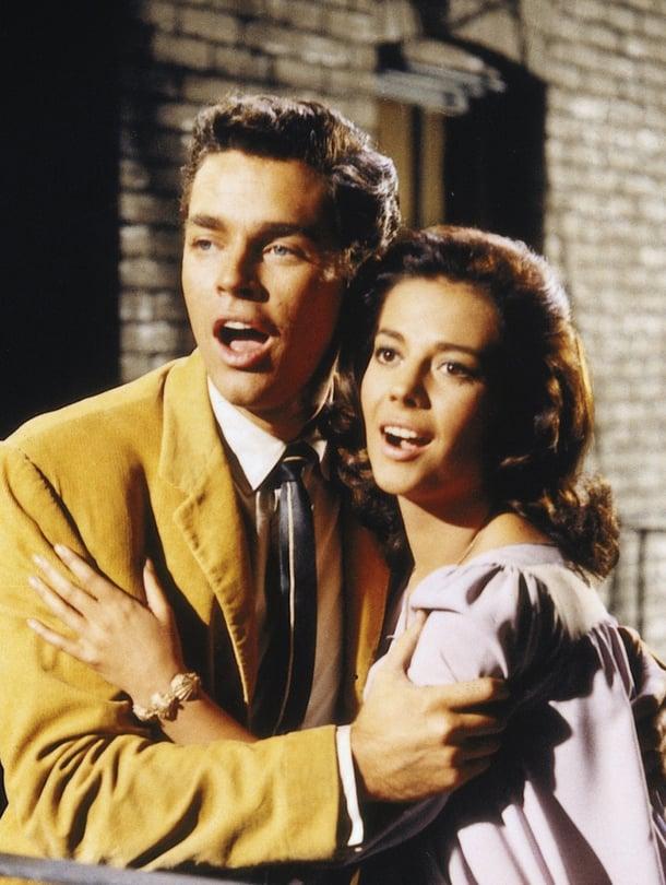 Richard Beymer ja Natalie Wood olivat West Side Storyn Tony ja Maria: New Yorkin latinokortteleiden Romeo ja Julia.