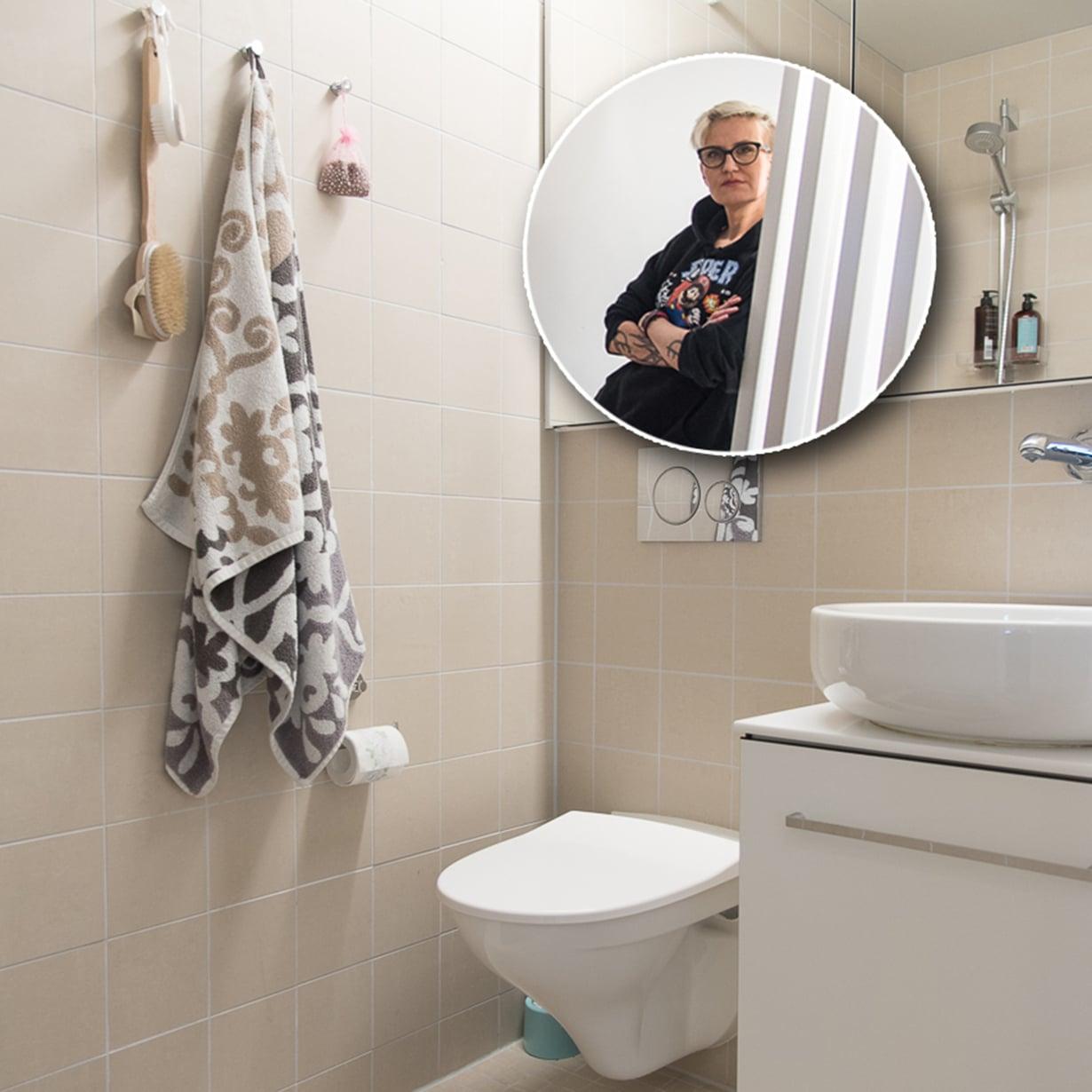 Miljan kotona hanat ja peilit kiiltävät. Kuvat: Miljan kotialbumi