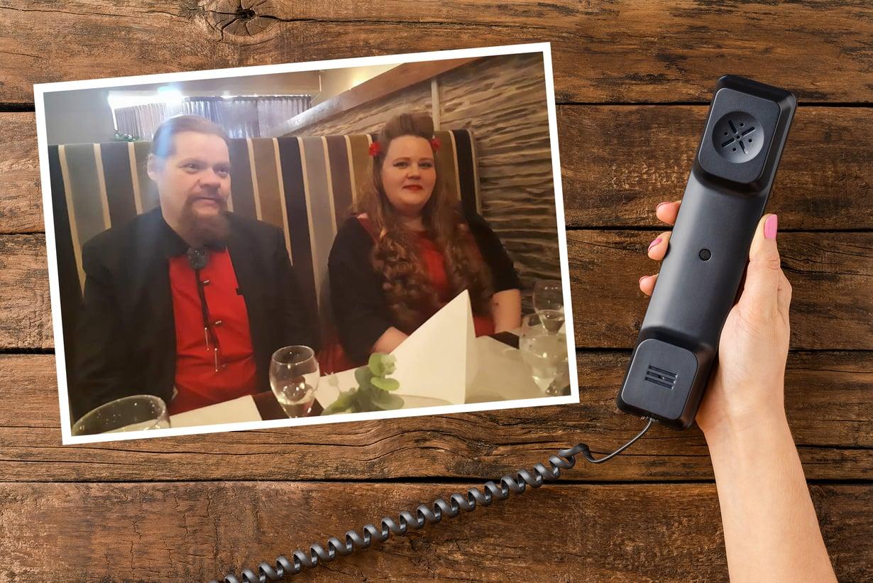 Marikan ja Juhan tarina alkoi väärään numeroon soitetusta puhelusta.