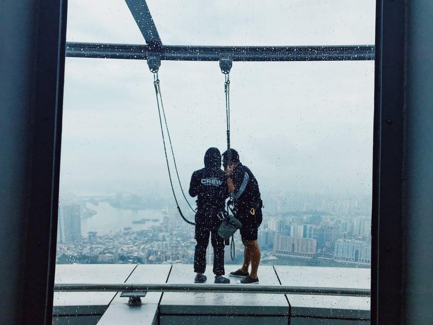 Macao-tornissa on paljon puuhaa huimapäille.