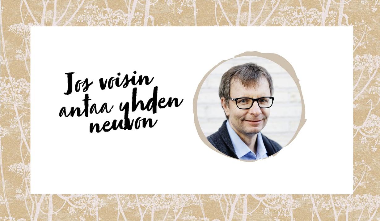 Heikki Hiilamo on valtiotieteiden ja filosofian tohtori, tietokirjailija, sosiaalipolitiikan professori Helsingin yliopistossa. Lisäksi hän oli Sote-asiantuntijaryhmän jäsen. Kuva: Outi Pyhäranta