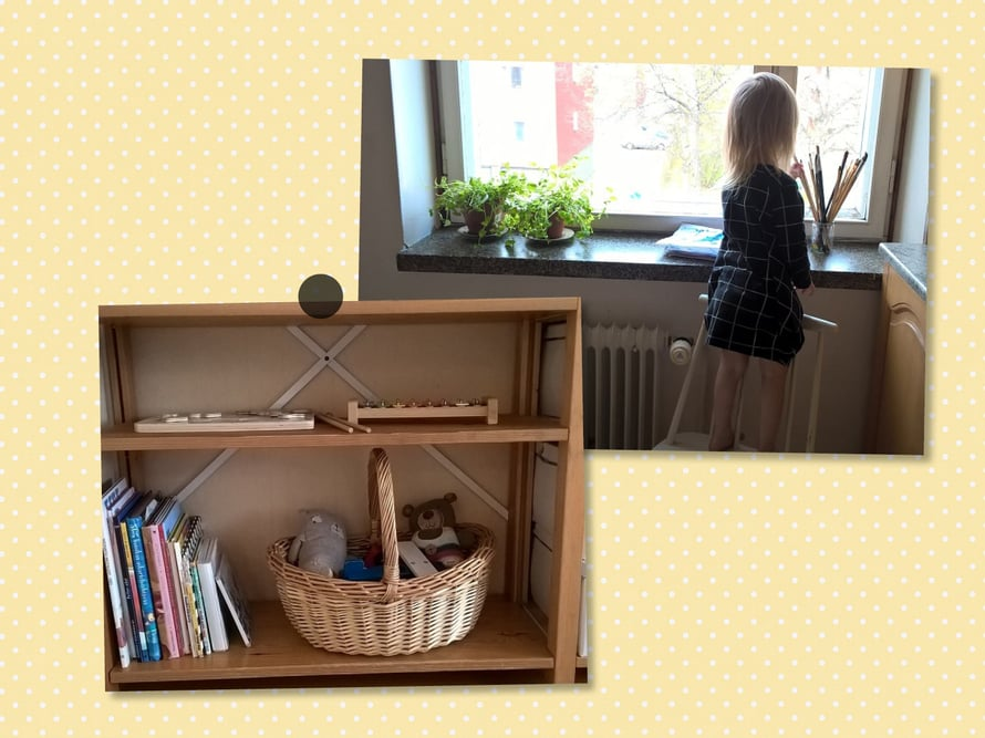 """– Lelukoreissa ja hyllyillä on juuri sen verran ylimääräistä tilaa, että lelut on helppo heitellä takaisin paikalleen leikkien jälkeen. Ammattijärjestäjä Ilana Aaltokin vinkkasi, että lelukoreihin on hyvä jättää """"tempomisvara""""."""