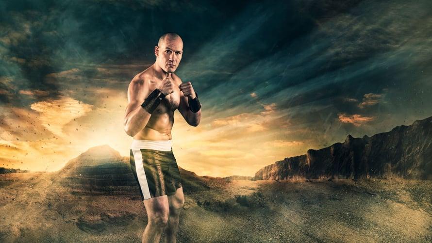 Amin Asikainen on niittänyt mainetta nyrkkeilykehissä.