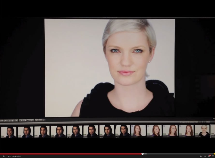 Ruutukaappaus YouTube / Peter Hurley.