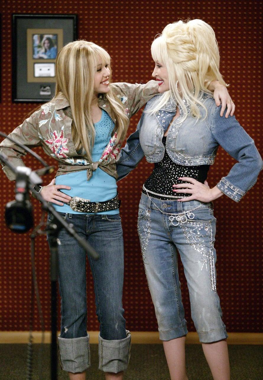 Dolly Parton on Miley Cyrusin kummitäti.