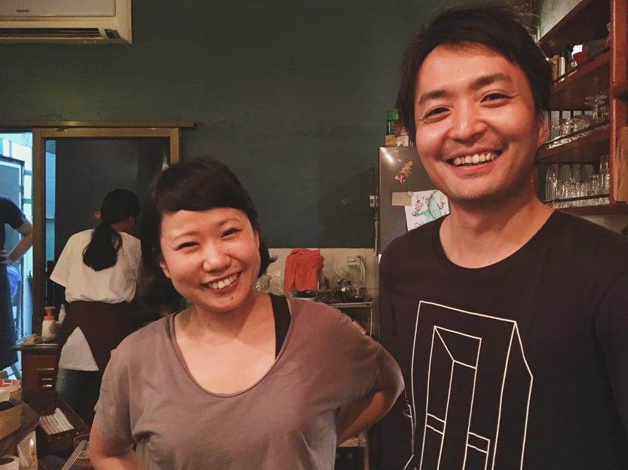 Karmakeittiö oli Erikan ja Hiroshin ensimmäinen kokeilu, joka kesti kolme tuntia.