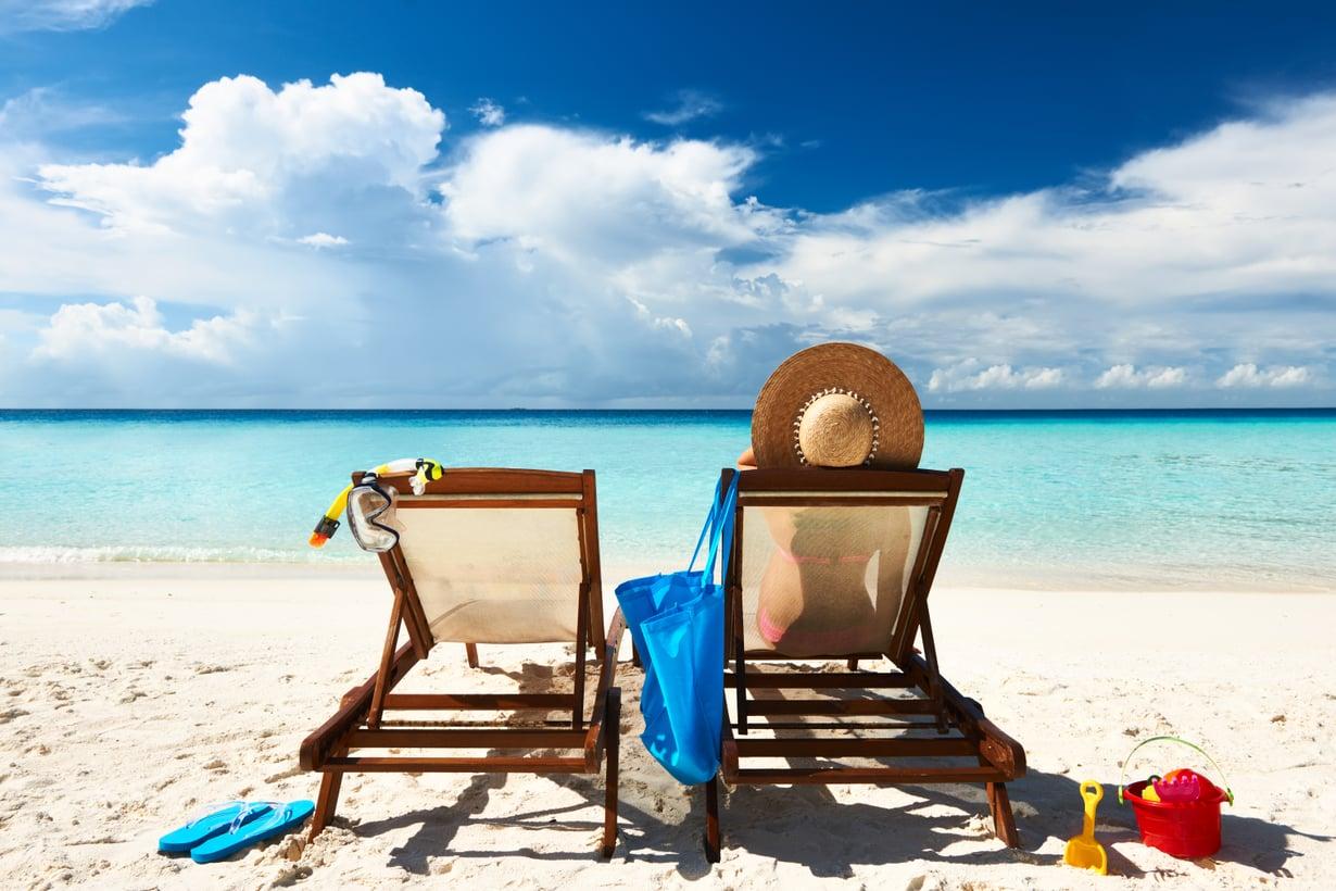 Isompi asunto, uusi työ ja loma Karibialla? Vuodenvaihde pistää miettimään unelmia ja tavoitteita. Kuva: Shutterstock