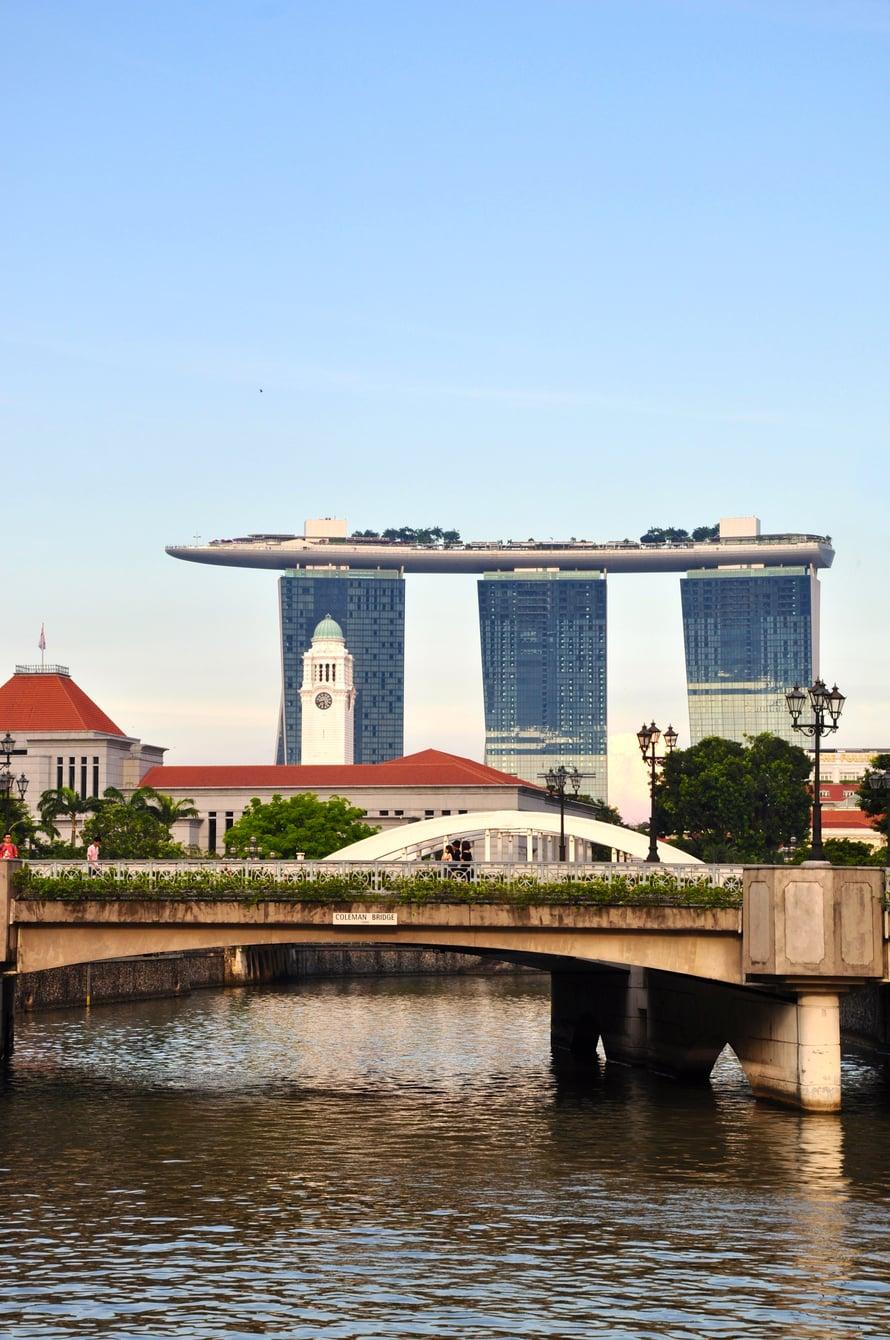 Näkymät Singaporessa voivat olla paikoin jopa utopistiset. Kuva: Johanna Elomaa