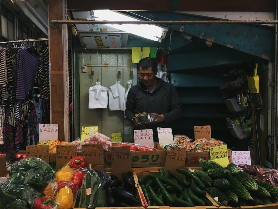 Okinawalaiset kuluttavat enemmän vihanneksia kuin Manner-Japanissa asuvat.