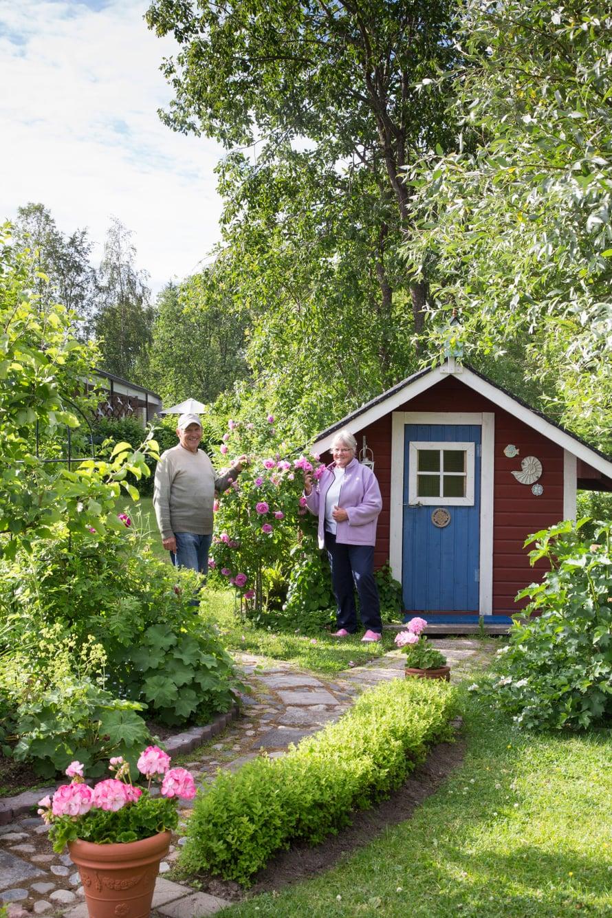 Lisbet ja Matti päättivät muuttaa eläkepäiviksi kokonaan pohjoiseen.