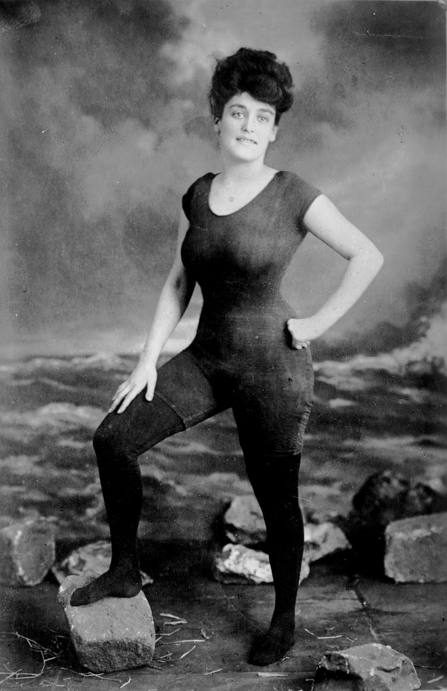 Annette Kellermann. Kuva: US Library of Congress.