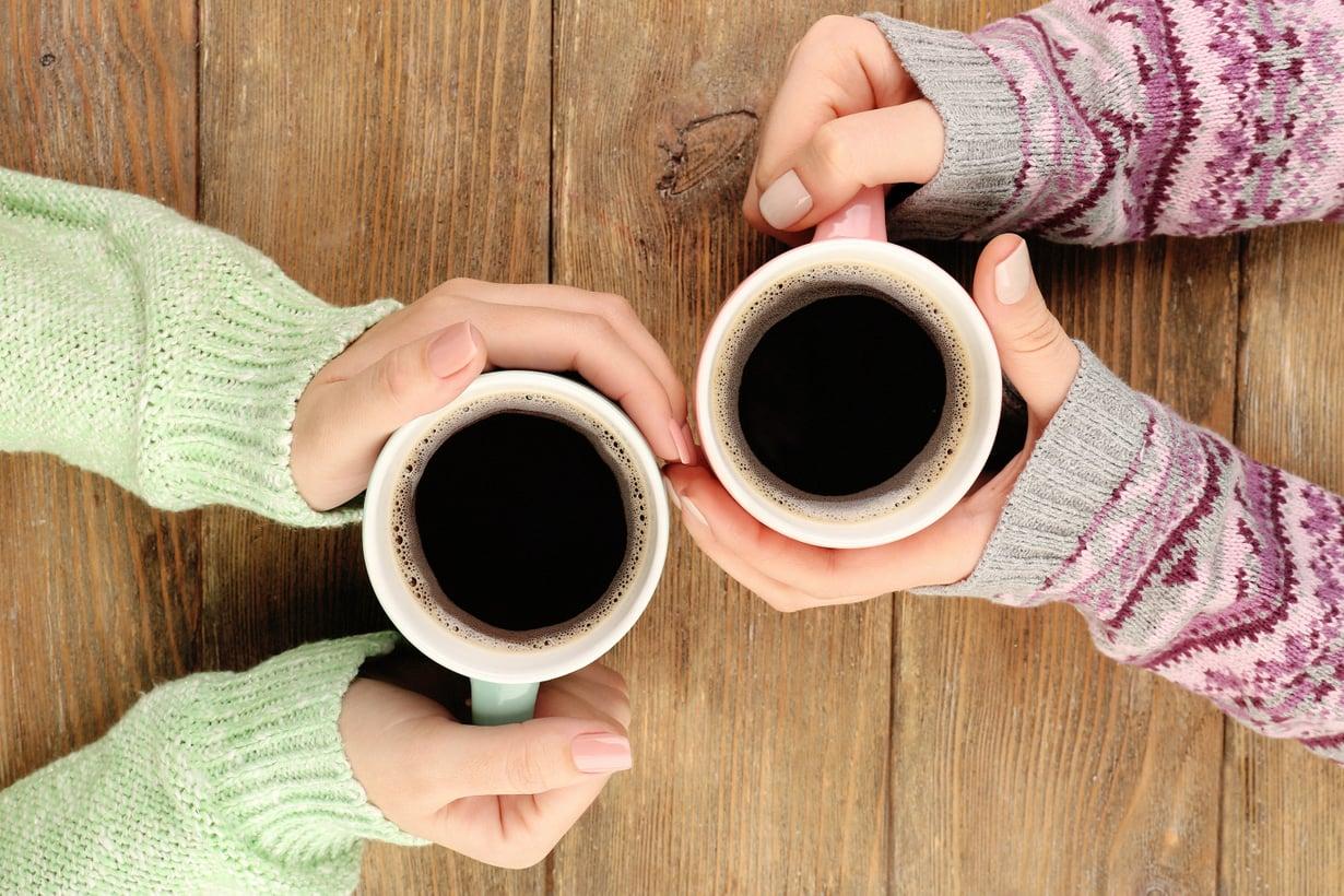 Kahvitaisto alkakoon! Kuvat: Shutterstock