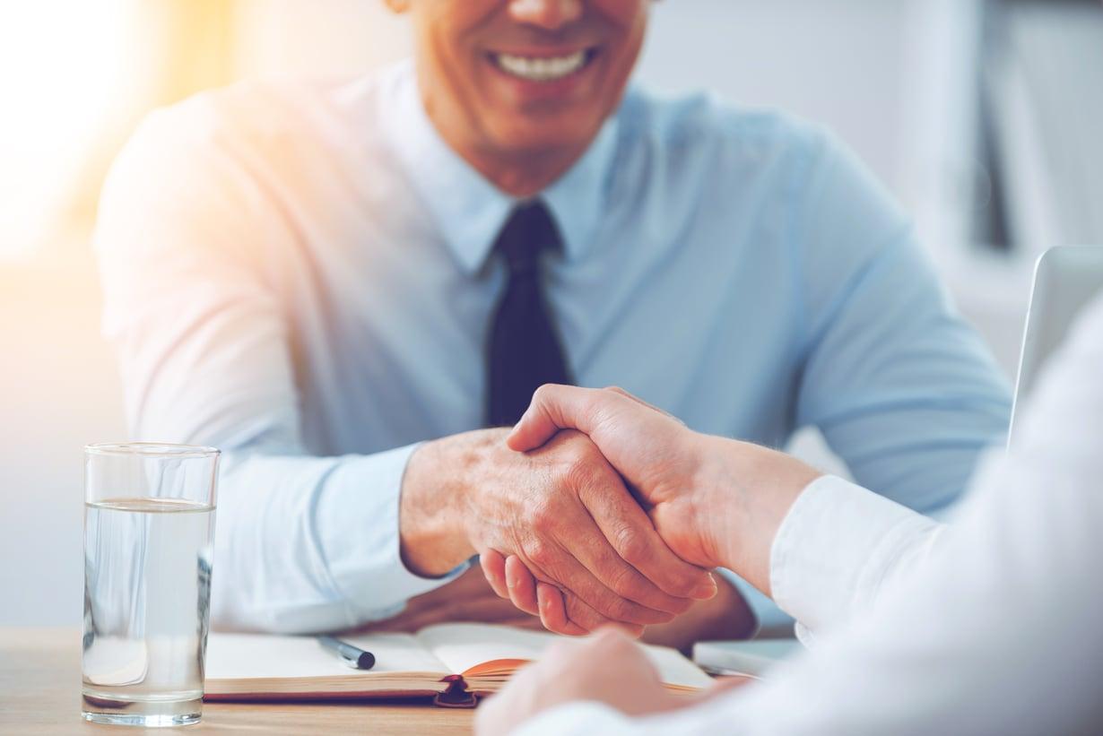 Työhaastattelussa voi tapahtua yhtä sun toista. Kuva: Shutterstock.