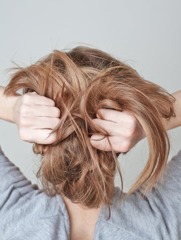 Rasvoittuvat Hiukset