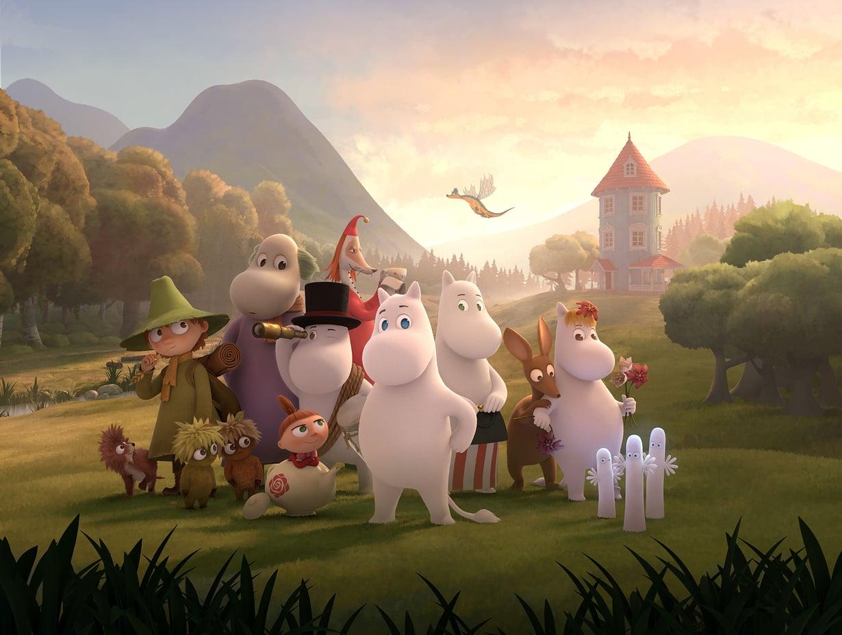 Oletko Muumipeikko, Muumimamma vai kenties Pikku Myy? Kuva: Moomin Characters Oy Ltd