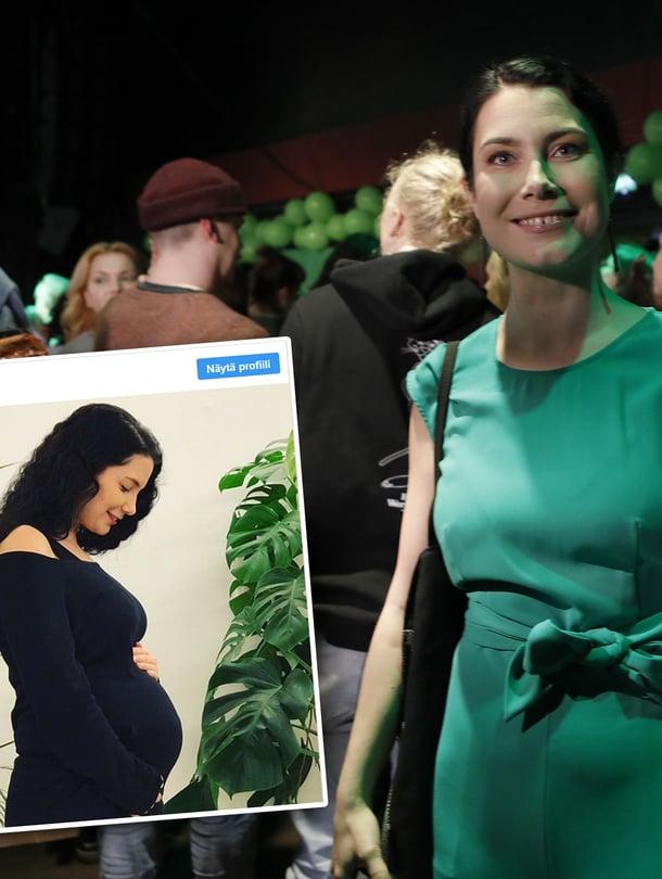 Kansanedustaja Emma Kari saa tänä vuonna kolmannen lapsensa.