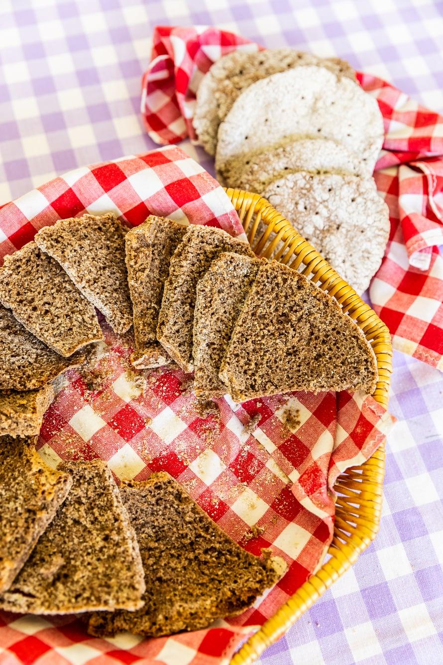 Juureen leivottua ruisleipää himoitsevat kaikki.