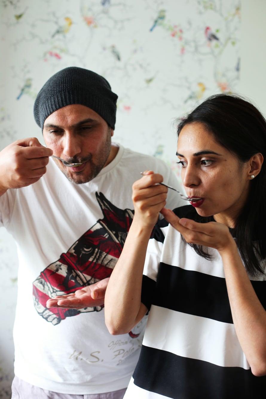 Sekä Pardaman että Mandi ovat syntyneet Intian Punjabissa. Kuva: Milka Alanen