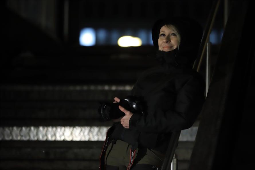 Johanna Kare on kuvannut yhteiskunnan heikoimmassa asemassa olevia. Kuva: Seppo Haavisto