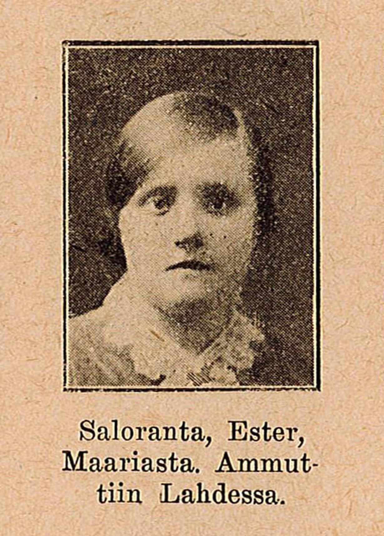 Esteristä ja monista muista teloitetuista julkaistiin kuvat Itä ja Länsi -lehdessä vuonna 1928. Lehti herätti paheksuntaa julkaisemalla kuvia ja henkilötietoja kansalaissodassa kuolleista punaisista.