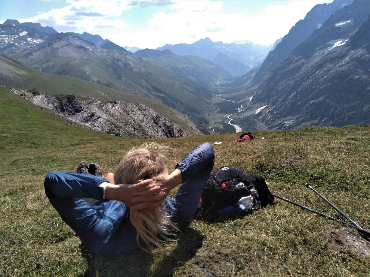 Viikon juoksuvaellus oli vaativa ja samalla huikea elämys. Kuvat: Saara Grönholm ja Satu Paasonen