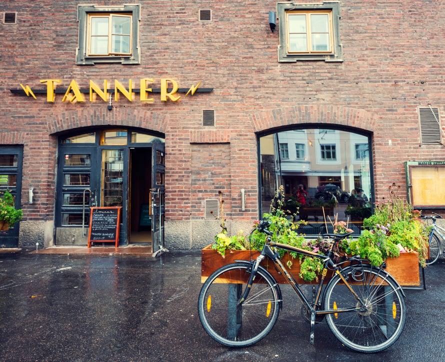 Hämeentiellä sijaitsevasta Ravintola Tannerista saa maistuvan aamiaisen. Kuva: Visit Helsinki / Yiping Feng and Ling Ouyang