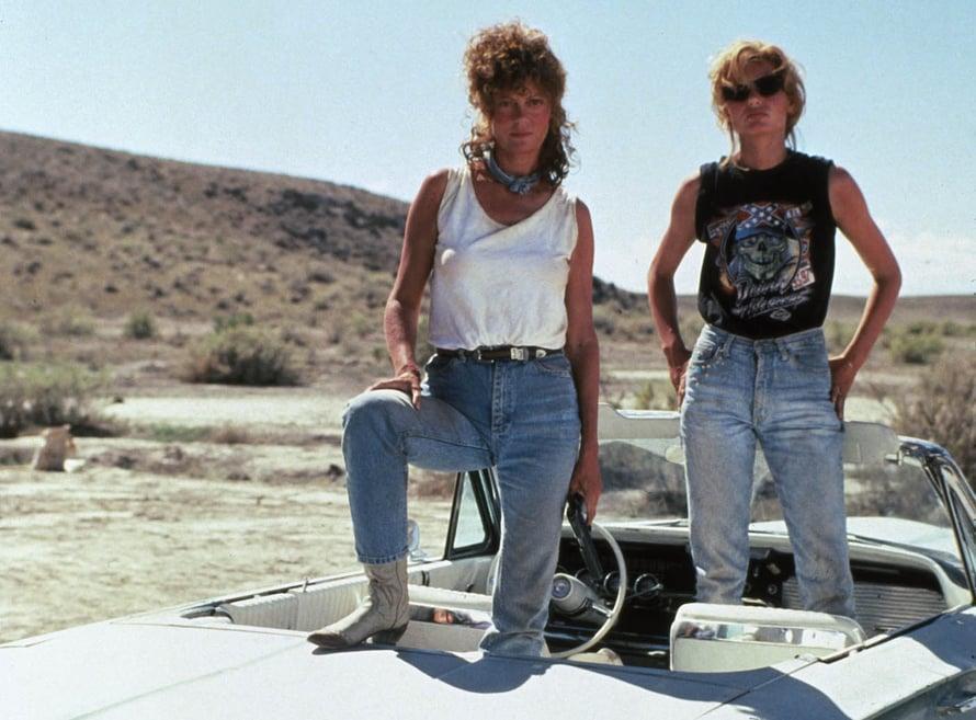 Asennemimmejä roadtripillä! Thelma ja Louise on iki-ihana klassikko.