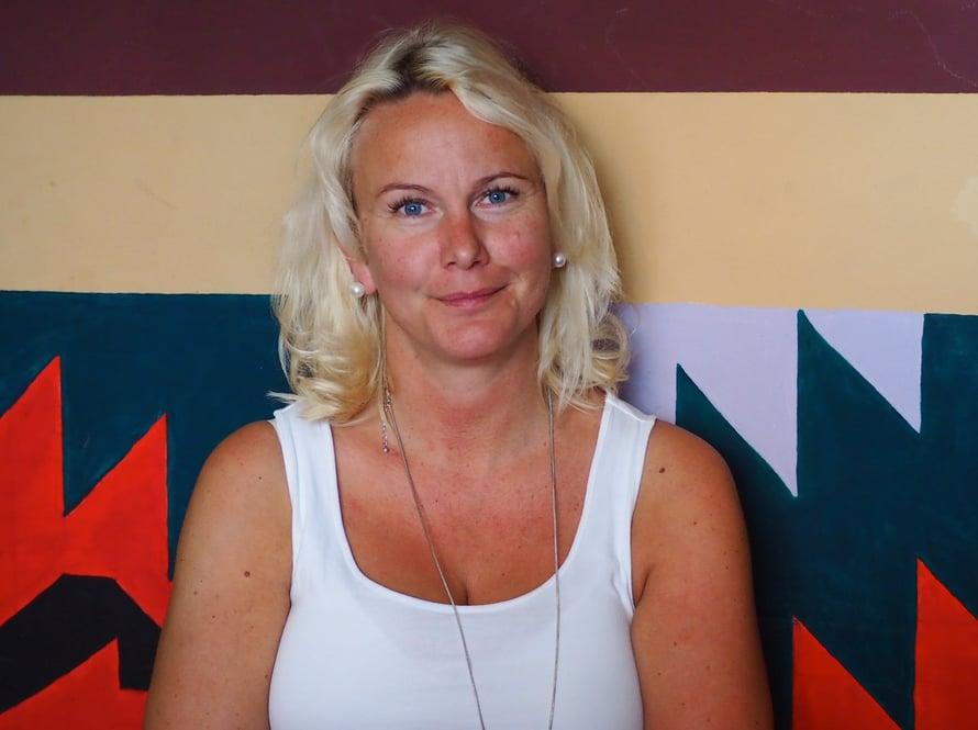 Hanna työskentelee parhaillaan Tiranan kansainvälisessä koulussa.