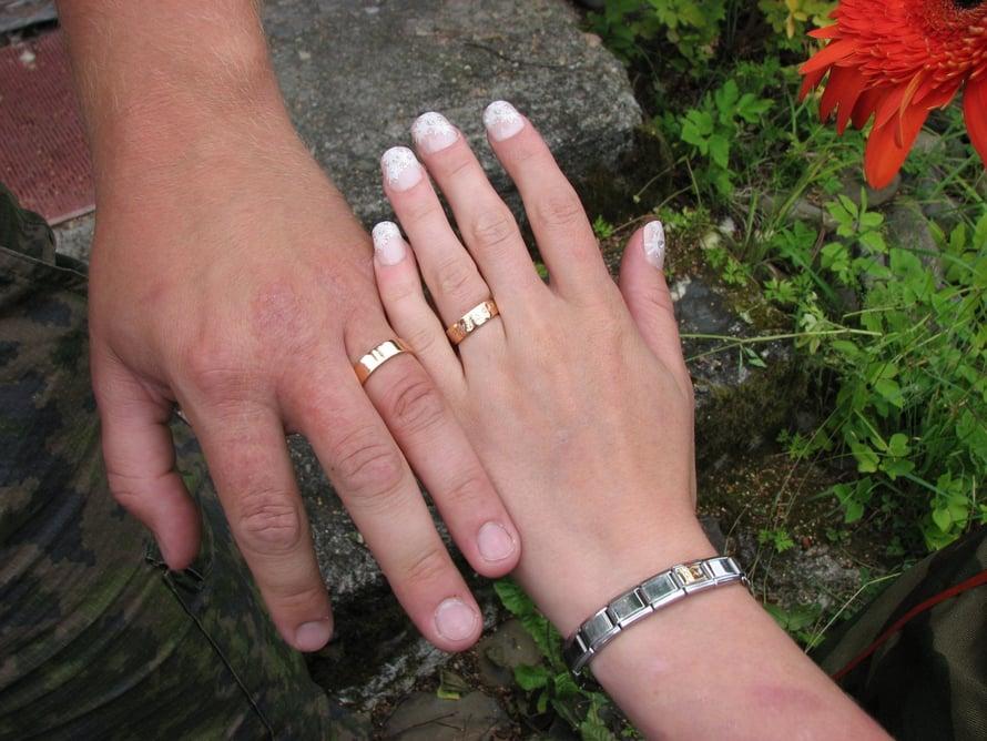 Eeva ehti olla miehensä kanssa 15 vuotta. Kuva: Eevan kotialbumi