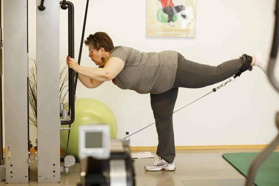 Sirkku Jänis on koukuttunut muutamassa kuukaudessa liikuntaan.