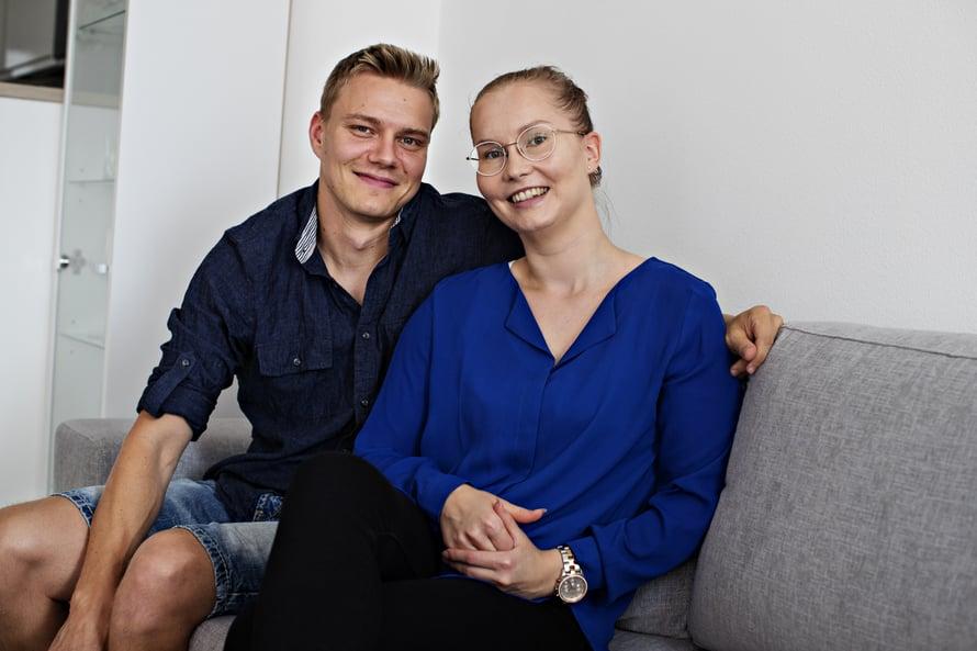 Yhteinen omistusasunto innosti Simo Leinon ja Veera Nurmelan testamentin tekoon.