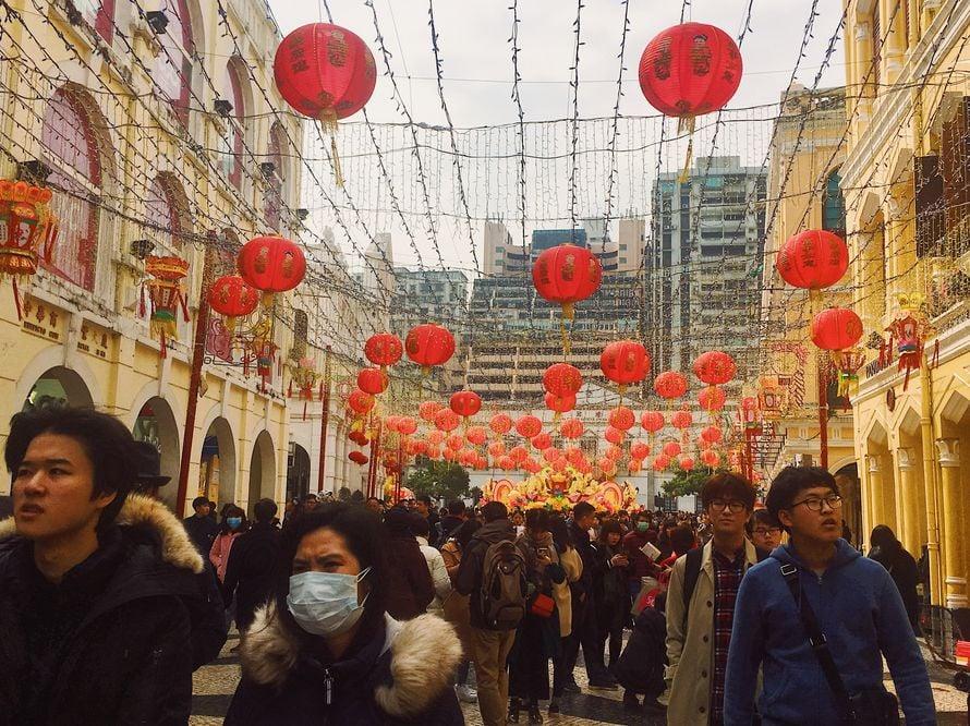 Kiinalainen uusivuosi tuo säpinää Macaoon.