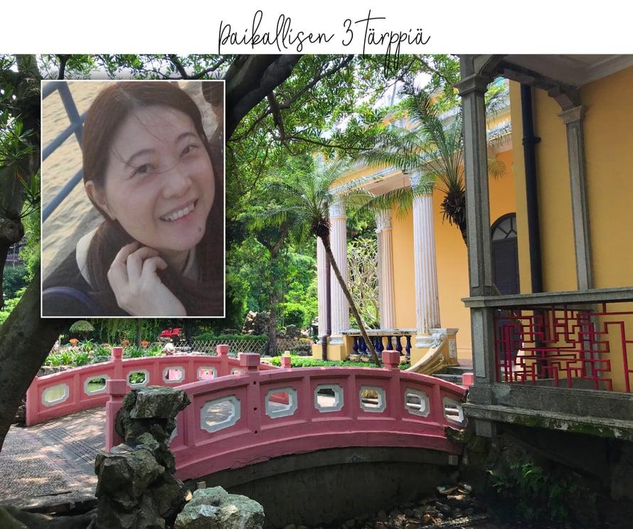 Macaon valtiollisen turismiviraston pr-päällikkö Jenny Kou kertoo alla suosikkinsa: